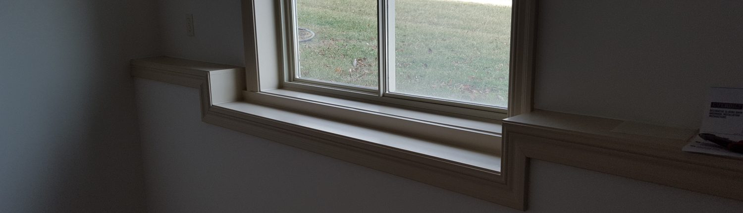 Ament Basement Remodel Window