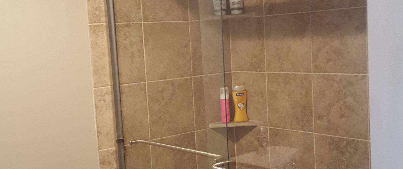 Ament Basement shower tile