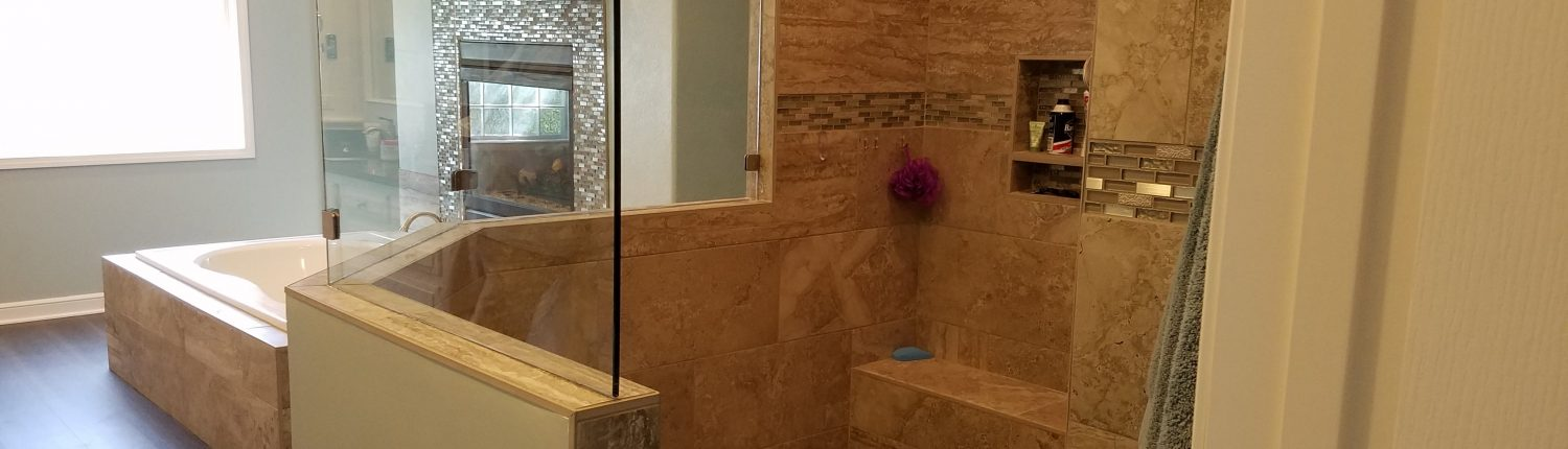 Whitty Bathroom Remodel Shower
