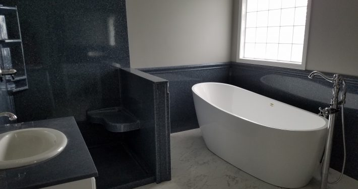 Hicks Bathroom Remodel soaker tub 2