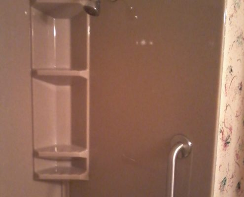 Wolfe Onyx shower caddy