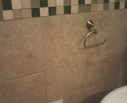 Hamilton Bath tile wainscoting