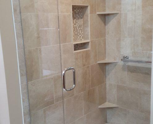 Porter Master Bath shower