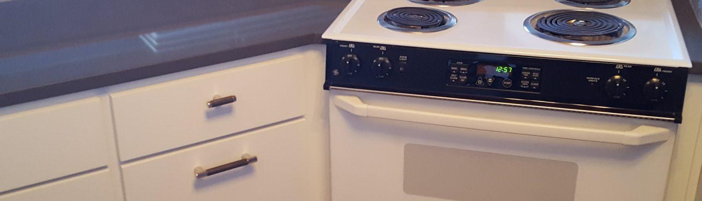 Francis Loft Remodel stove