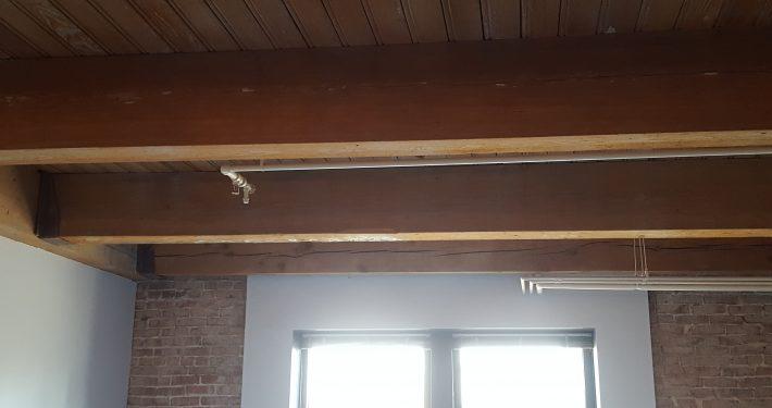 Francis Loft Remodel beams