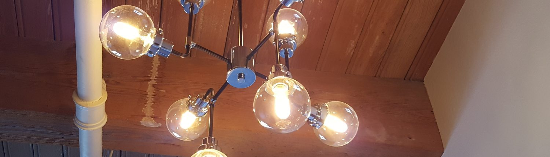 Francis Loft Remodel lights