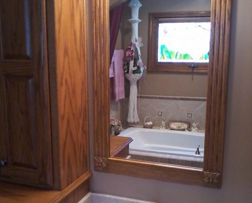 Schnieder Shower Onyx Bathroom Mirror