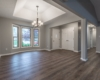 Aker open living room and great room design