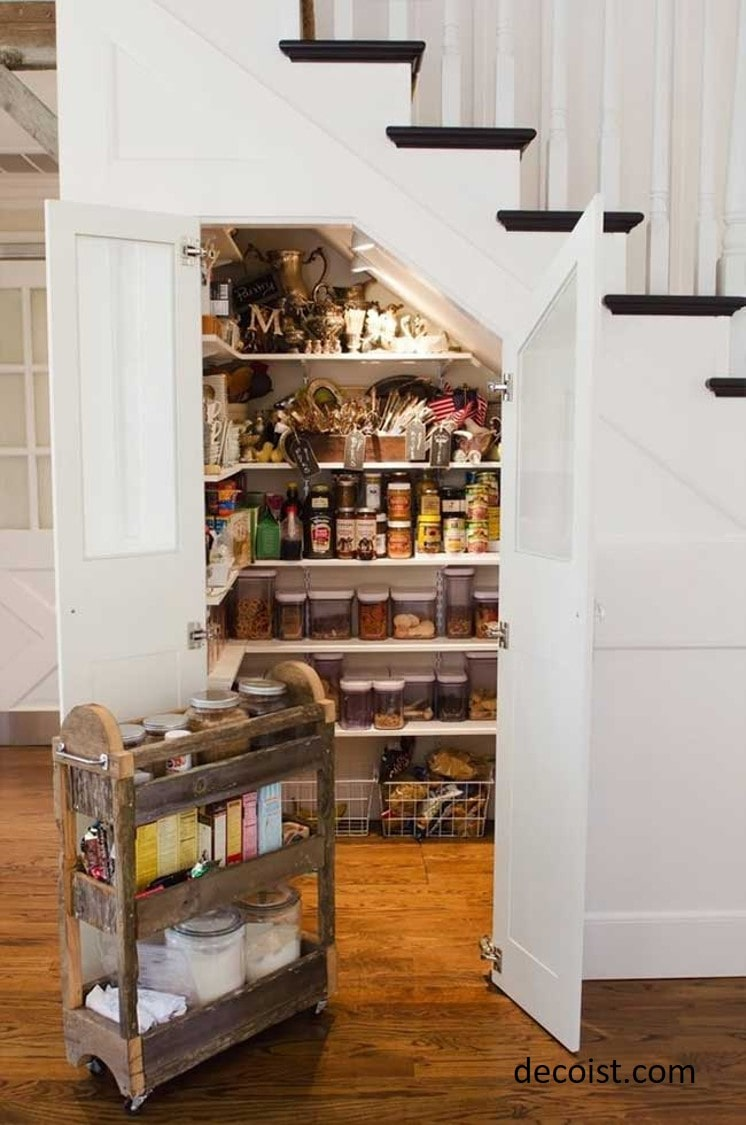 under the stair pantry