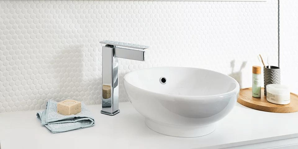 unique tiles in bathroom