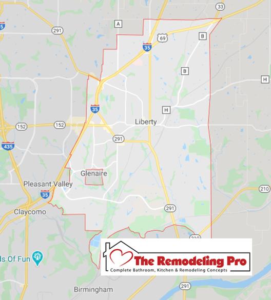 Liberty remodel map