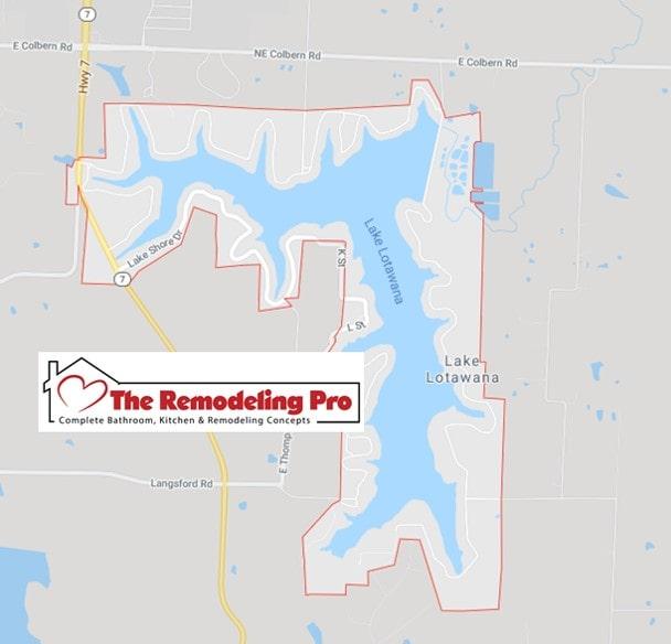 remodeling pro lake lotawana map