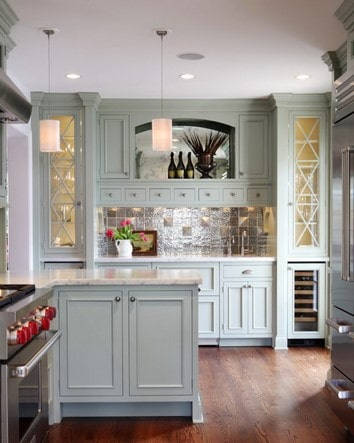frost color kitchen cabinets