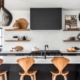 7 great kitchens with black cabinets