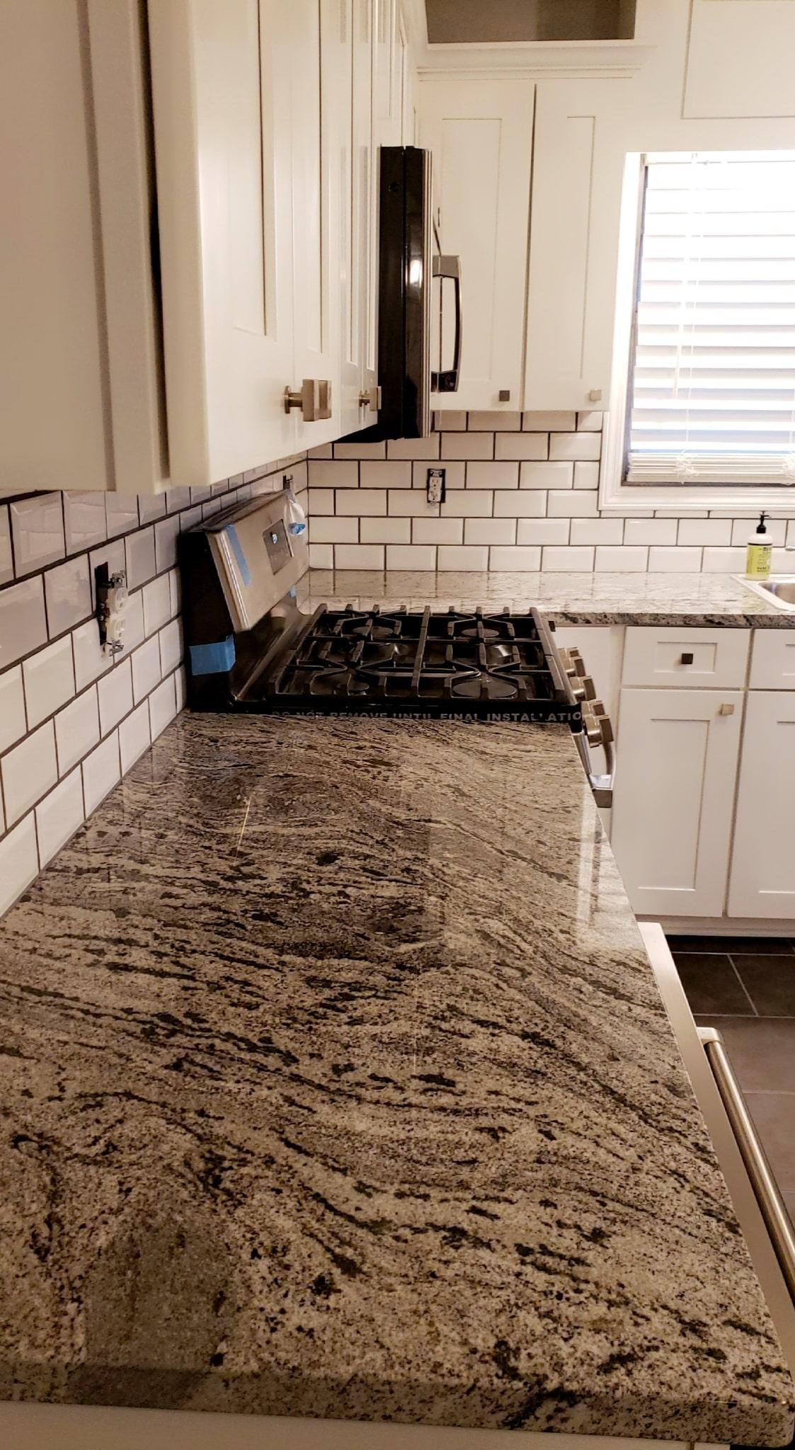 Brown Kitchen Remodel 13