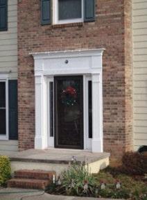 Brick door 2 after